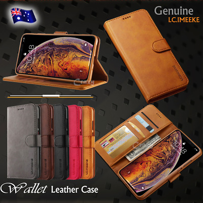 AU7.49 • Buy For IPhone 6 6S 7 8 Plus X XS Max XR SE 11 12 Magnetic Leather Wallet Case Cover