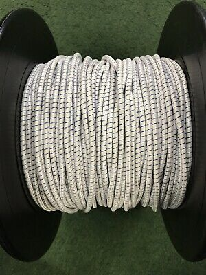 £5 • Buy 10 Metres Of 4 Mm Replacement Shock Cord/elastic For Fiberglass Tent Poles-white