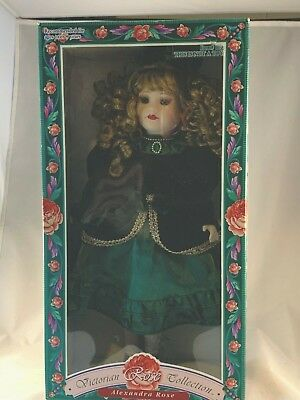 $ CDN33.57 • Buy Victorian Rose Collection Porcelain Doll 16  1997 Limited Edition Melissa Jane