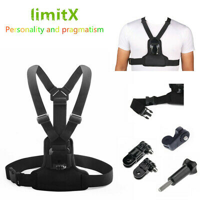 AU16.53 • Buy Chest Mount Harness Chest Belt Strap Cycling Hiking Fishing For DJI Thieye