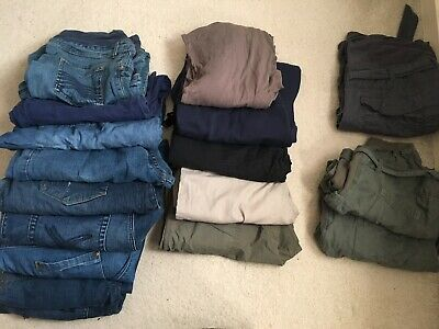 Bundle Of Maternity Trousers Size 14-16 • 40£