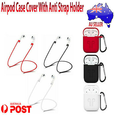 AU3.35 • Buy New Apple Airpod Case Cover Protective Silicon Skin Shockproof Case Holder