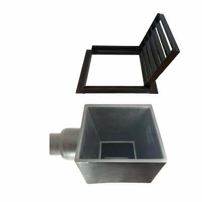 £100 • Buy 7 Bar Drainage Grate And PVC Yard Gully Trapped
