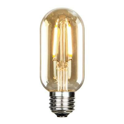 AU11.29 • Buy LED Filament Edison Tubular Bulb - 1.5 Watt - 25 Watt Equal - 120 Lumens!