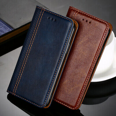 AU11.82 • Buy Magnetic Flip Card Wallet Leather Phone Case Cover For Sony New Phones