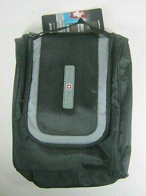 Swiss Gear Hanging Toiletry Bag Travel Black Gray • 23.20£