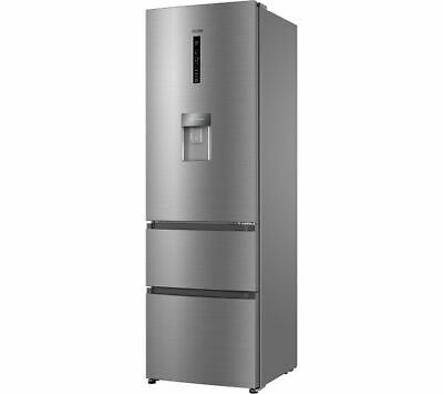 View Details HAIER AFE635CHJW 60/40 Fridge Freezer - Stainless Steel - Currys • 519.00£