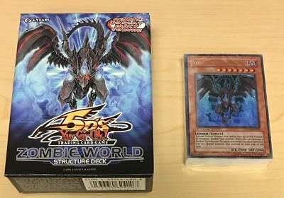 AU32.34 • Buy Yugioh Zombie World English 1st Edition Structure Deck - Inner 60 Card Pack QTY