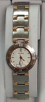 $ CDN55 • Buy SEIKO Quartz White Dial Gold Tone Bracelet Women's Watch 1N01 JAPAN
