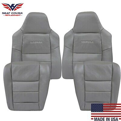 $105 • Buy 2003 2004 2005 2006 2007 Ford F250 F350 Lariat XLT Replacement Seat Covers Gray