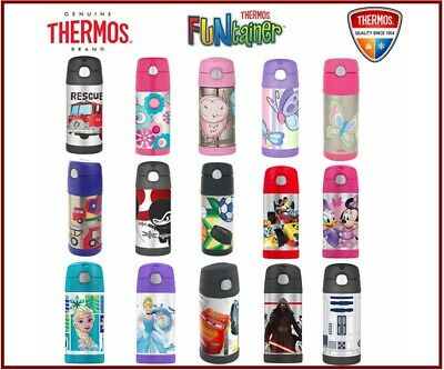 AU23.99 • Buy THERMOS Funtainer Kids S/Steel 355ml Vacuum Insulated Drink Bottle RRP $29.99