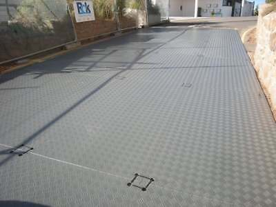 £2099.99 • Buy 20 X Temporary Access And Ground Protection Mats 2.4m X 1.2m X 12mm