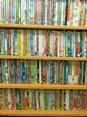 $ CDN50.75 • Buy Children's Lot Of 50 Kids DVDs ~ Movies  TV Shows ~ Girl Boy Mix