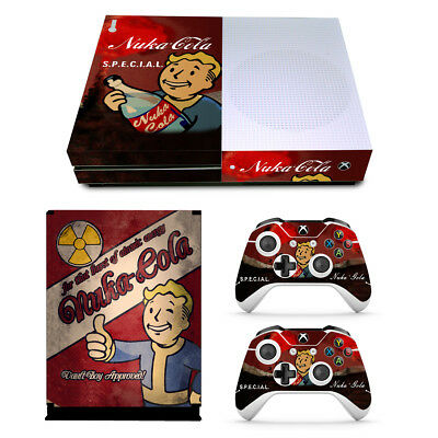 $8.99 • Buy Xbox One S Console Skin Decal Sticker Vault Boy + 2 Controller Skins Set USA