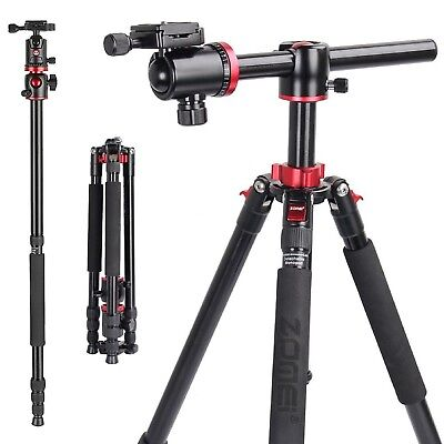 AU129.19 • Buy ZOMEI M8 Heavy Duty Tripod Monopod Transverse Center Column Ball Head For Camera