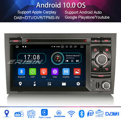 £226.07 • Buy DAB+Car Stereo For AUDI A4 S4 RS4 RNS-E SEAT EXEO Android 10.0 Sat Nav Carplay