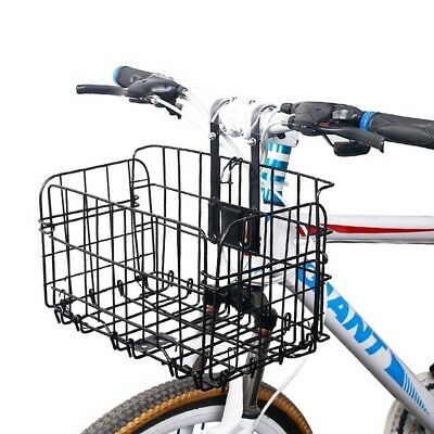 £27.53 • Buy Bike Basket, Folding Small Pet Cat Dog Carrier Front Removable Bicycle Handlebar