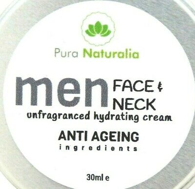 Anti Ageing.Anti-Wrinkle Face Cream For MEN. Non Greasy Hydrating Cream- UK 30ml • 6.99£