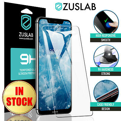 AU5.95 • Buy For Nokia 8.1 7.1 6.1 5.1 7 Plus 3.1 2.1 8 6 5 3 Tempered Glass Screen Protector