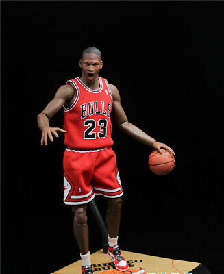 $29.77 • Buy 1/6 Scale Red Chicago Bulls Jersey 23 For Michael Jordan Enterbay Hot Toys Model