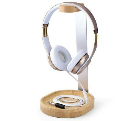 AU99.95 • Buy Avantree Universal Wooden & Aluminum Headphone Stand Hanger With Cable Holder Fo