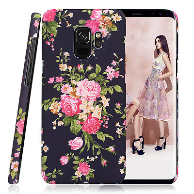 AU14.99 • Buy For Samsung Galaxy S10+ Flower Case For Girls Women, Floral Vintage Chic Cover