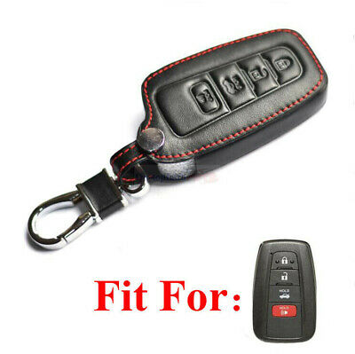 $10.98 • Buy Fit Toyota Camry Avalon RAV 4 Button Smart Remote Key Fob Bag Leather Cover Case