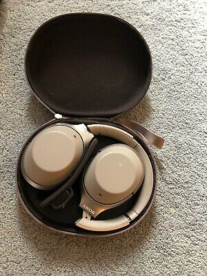 AU167.02 • Buy Sony WH-1000XM2 (GOLD) Wireless Bluetooth Noise Cancelling Headphones