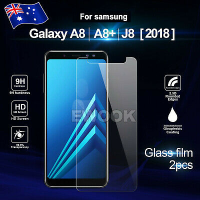 AU2.95 • Buy 2x For Samsung Galaxy A8 J8 J2 Pro 2018 Tempered Glass Screen Protector Film AU