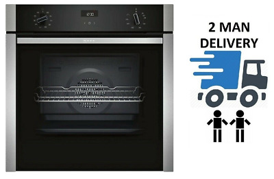 £649 • Buy NEFF B3ACE4HN0B Slide&Hide Stainless Steel Electric Oven + Free £70 Grocery Card