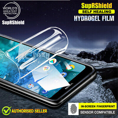 AU6.95 • Buy Nokia 5.1 Plus / 7.1 SupRShield Hydrogel Full Coverage LCD Screen Protector Film