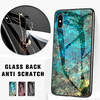 AU8.35 • Buy For IPhone 11 Pro Max XS Max XR 8 7 Case Shockproof Glass Marble Soft Cover