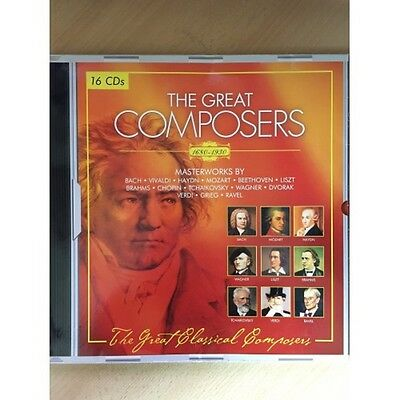 The Great Composers 1680-1930 From Tandem Verlag/Flex Media Entertainment • 25.50£