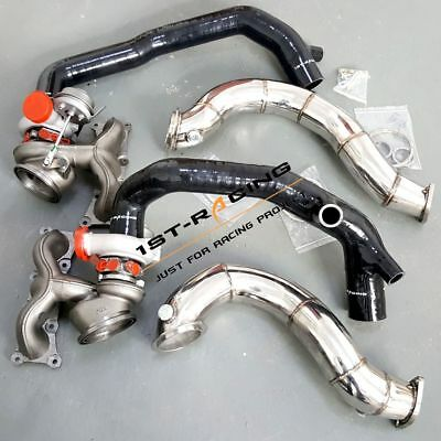 $ CDN1750.27 • Buy 16T Twin Turbos+2  Inlets+3  Exhaust Downpipe For BMW N54 135i 335i 3.0L 07-10
