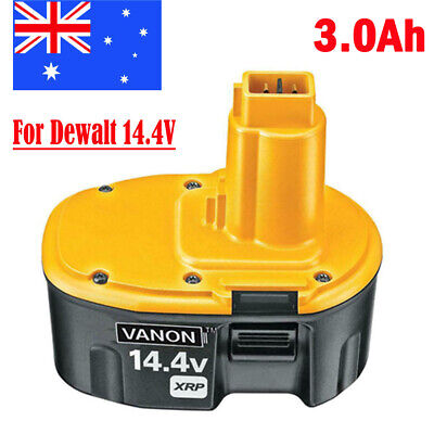 AU28.99 • Buy 14.4V 3.0Ah Battery For Dewalt DC9091 DW9094 DE9038 DE9092 DE9093 DW9091 DE9094