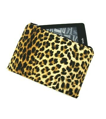 AU26 • Buy Leopard Print Kindle Padded E-Reader Case, Paperwhite Sleeve, Amazon Oasis