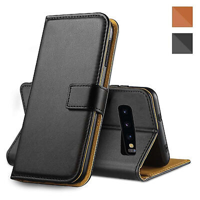 $ CDN6.97 • Buy For Samsung Galaxy S8 New Leather Flip Wallet Black Case Magnetic Phone Cover