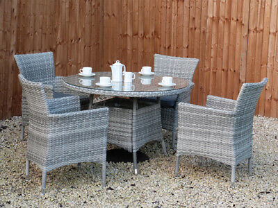 £349.95 • Buy Rattan Garden Furniture Set Sofa Chairs Table Conservatory Outdoor Patio