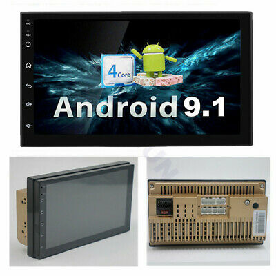 $ CDN112.57 • Buy Android 9.1 Universal 2 Din 7  Car Stereo Radio GPS Wifi Touch Screen Quad-Core