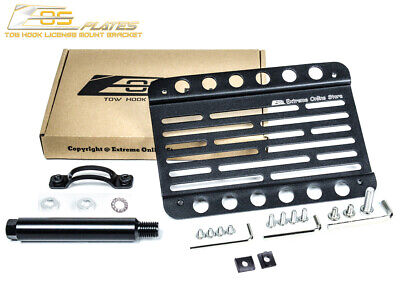 $45.50 • Buy EOS Plate Front Bumper Tow Hook License Mount Bracket For 02-07 Subaru WRX & STI