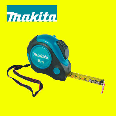 Makita P-72986 Autolock 8m Measuring Tape Measure 8 Metres Metric Imperial • 11.99£