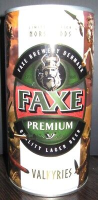 $ CDN10.61 • Buy NEWEST! Beer Can - Faxe Premium - 900 Ml - 2019 - Russia - Norse Gods #1