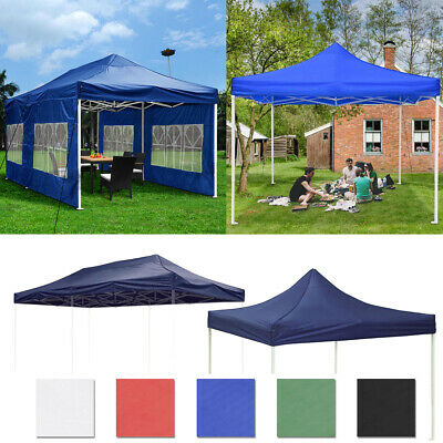 $120.99 • Buy EZ Pop Up Canopy Tent Wedding Party Commercial Outdoor Instant Shelter 10' 20'