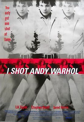 $32.95 • Buy I SHOT ANDY WARHOL MOVIE POSTER Lili Taylor Pop Art 1sht-1996