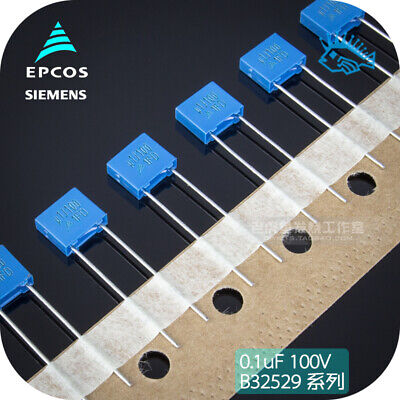 $2.29 • Buy 10/100pcs 0.1UF 100V 104J EPCOS Non-polar Capacitor