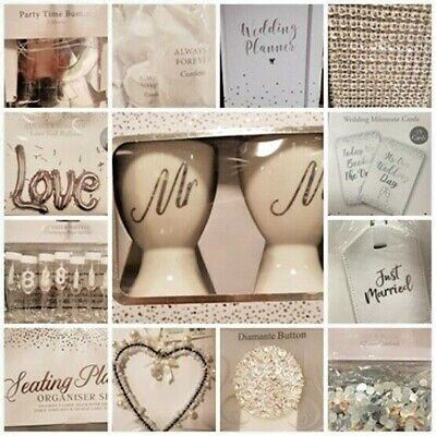 £4.99 • Buy Wedding Table Accessories Favours Table Decoration Reception Party Decor Gift