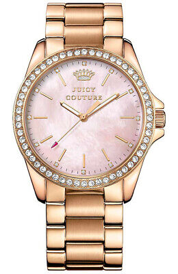 $ CDN28.38 • Buy Juicy Couture Women's Rose Gold Stella Crystallized Watch 1901262