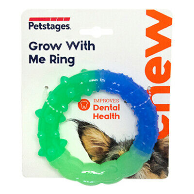 £9.52 • Buy Petstages Grow With Me Ring Puppy & Small Dog Toy | Orka Rubber Chew Dental Pet