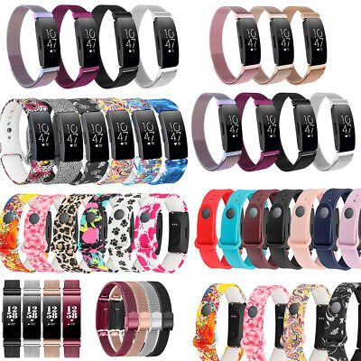 AU9.99 • Buy For Fitbit Inspire/Inspire HR Milanese Stainless Steel Magnetic Band Watch Band