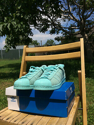 $ CDN70 • Buy Adidas Superstar RT Aqua AQ4916 Men's SZ 11 Originals ( Size 9 US)- Barely Worn